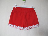 красные шорты Chicco beachwear