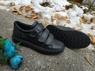 Ecco S7 Teen кожаные кроссовки на липучках