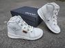 Кожаные ботинки хай-топы Ecco First