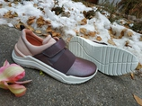 Ecco Inter vein кожаные кроссовки