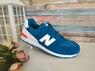 Замшевые кроссовки New Balance 574
