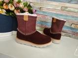 Clarks замшевые демисезонные ботинки