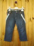 Steiff джинсы на подтяжках