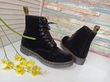 Dr. Martens демисезонные велюровые ботинки