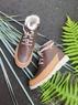 Демисезонные утепленные ботинки Clarks Crown