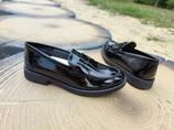 Кожаные лаковые туфли Geox Agata