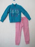 трикотажный костюм на девочку Chicco