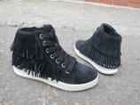 Замшевые кроссовки Geox Aveup High-Top