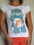 """Benneton футболка """"заботливые мишки"""""""