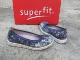 Кожаные туфли балетки Superfit
