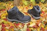 New Balance демисезонные кожаные ботинки