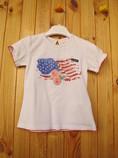 футболка Chicco с американским флагом