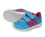 Летние кроссовки adidas голубые