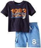 фирменный комплект Nautica футболка и шорты