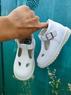 Кожаные закрытые сандалии Pablosky