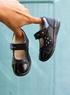 Кожаные туфли Ecco для девочки